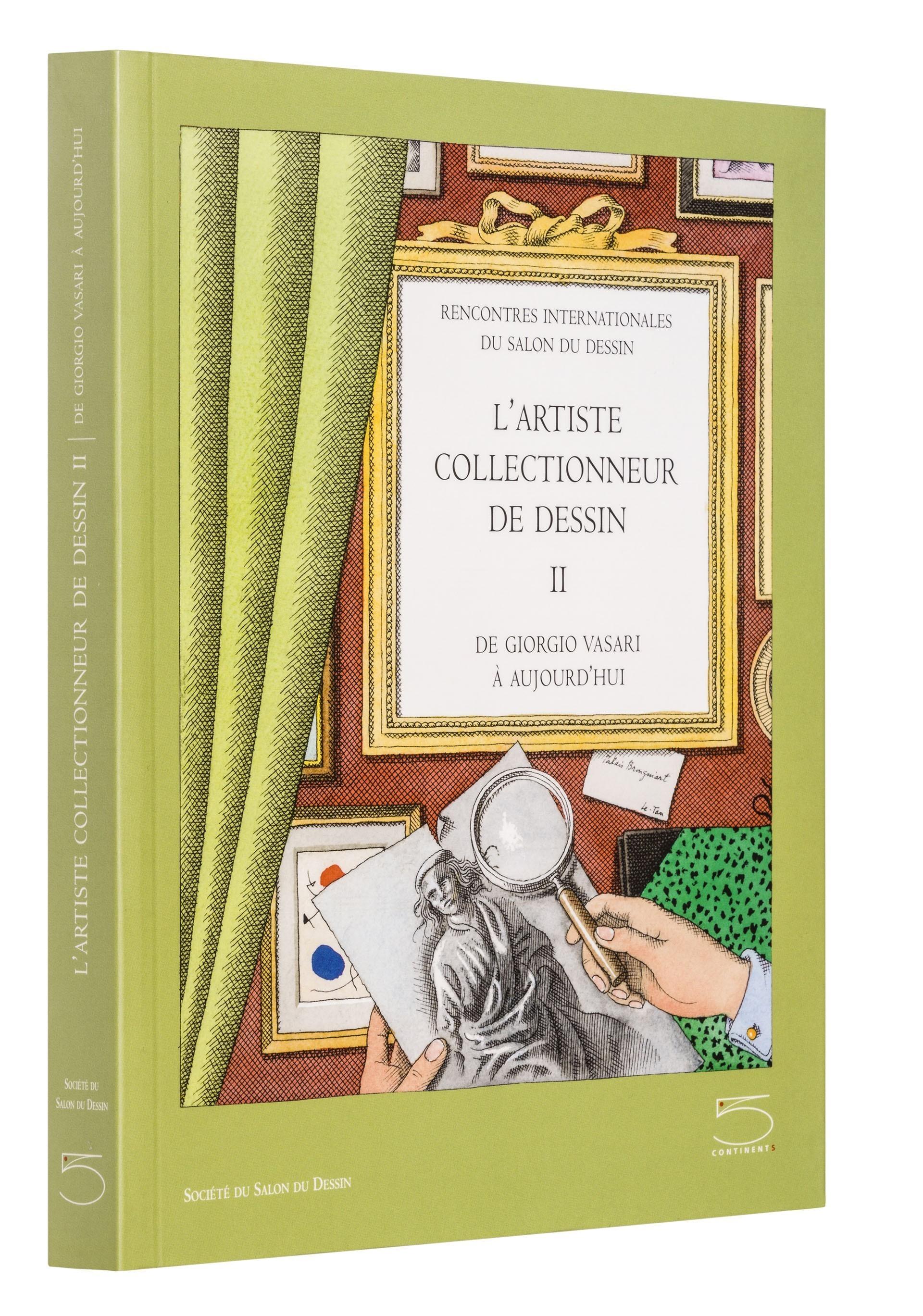 L'artiste collectionneur de dessin - II
