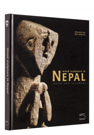 Wood sculpture in Nepal