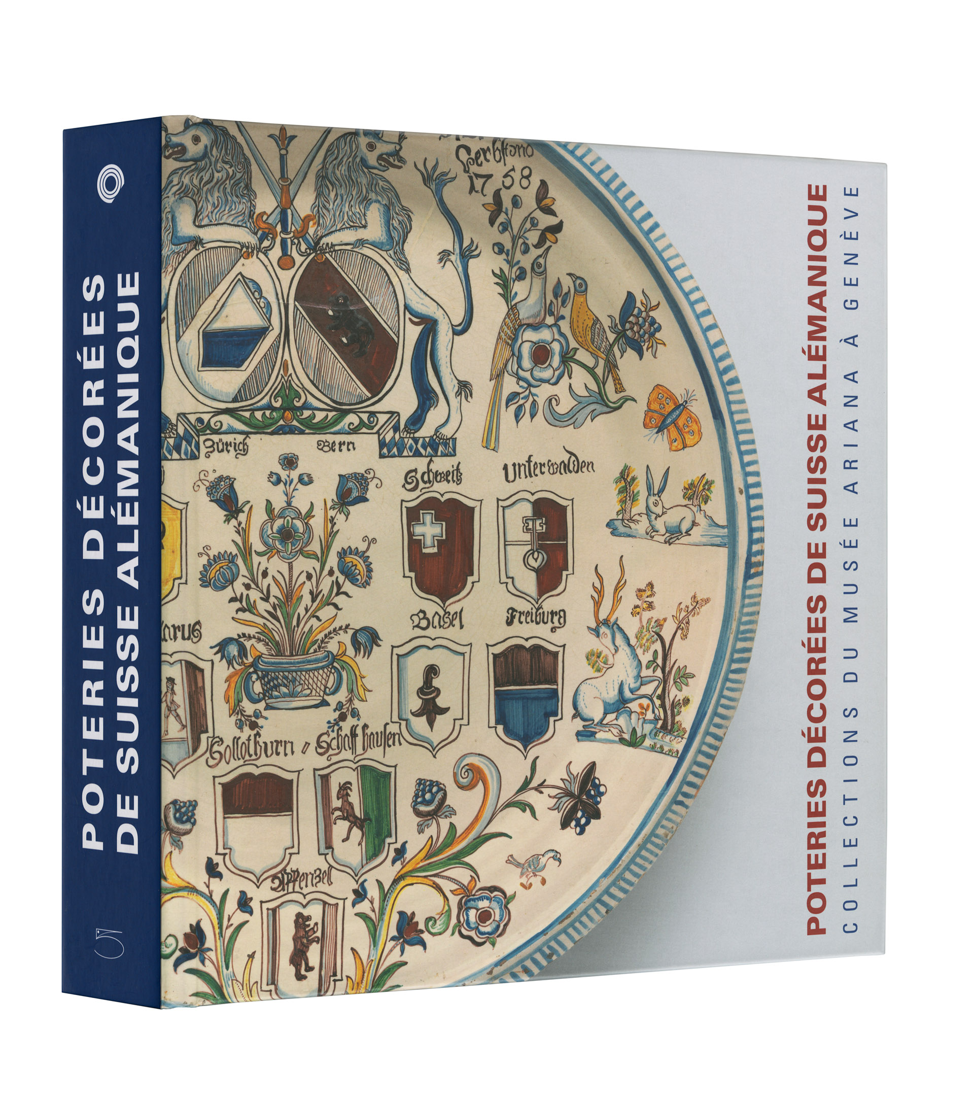 Poteries décorées de Suisse alémanique | 5 Continents Editions